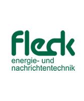 logo von fleck energie- und nachrichtentechnik